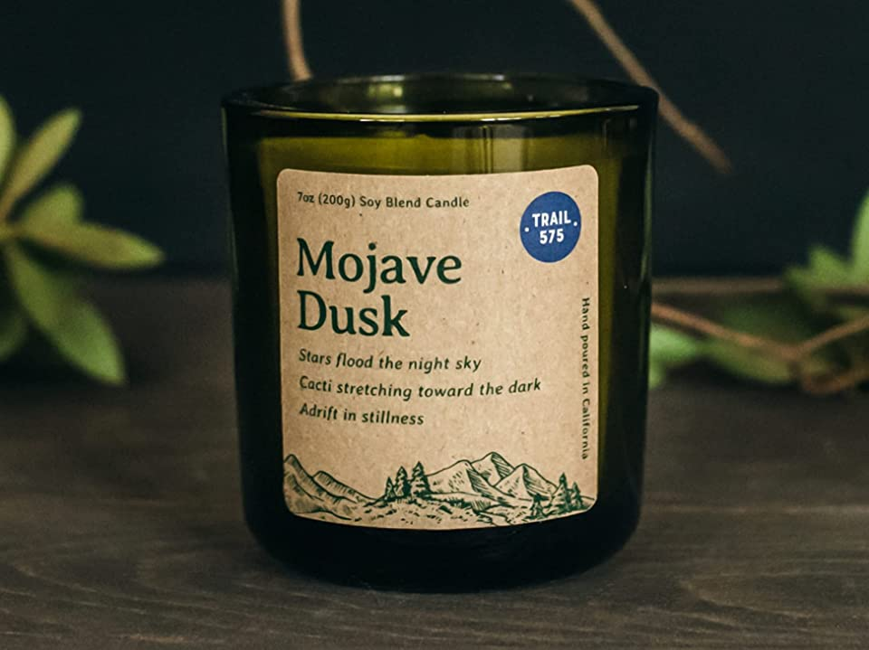 Mojave Dusk Scented Soy Blend Candle | Handmade in the USA