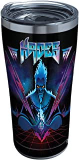 Tervis 1332557 Disney Villains - Hades Stainless Steel Insulated Tumbler with Clear and Black Hammer Lid, 20oz, Silver