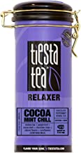 Tiesta Tea Cocoa Mint Chill, Chocolate Peppermint Herbal Tea, 50 Servings, 3 Ounce Tin - Caffeine Free, Loose Leaf Herbal Tea, Relaxer Blend, Non-GMO