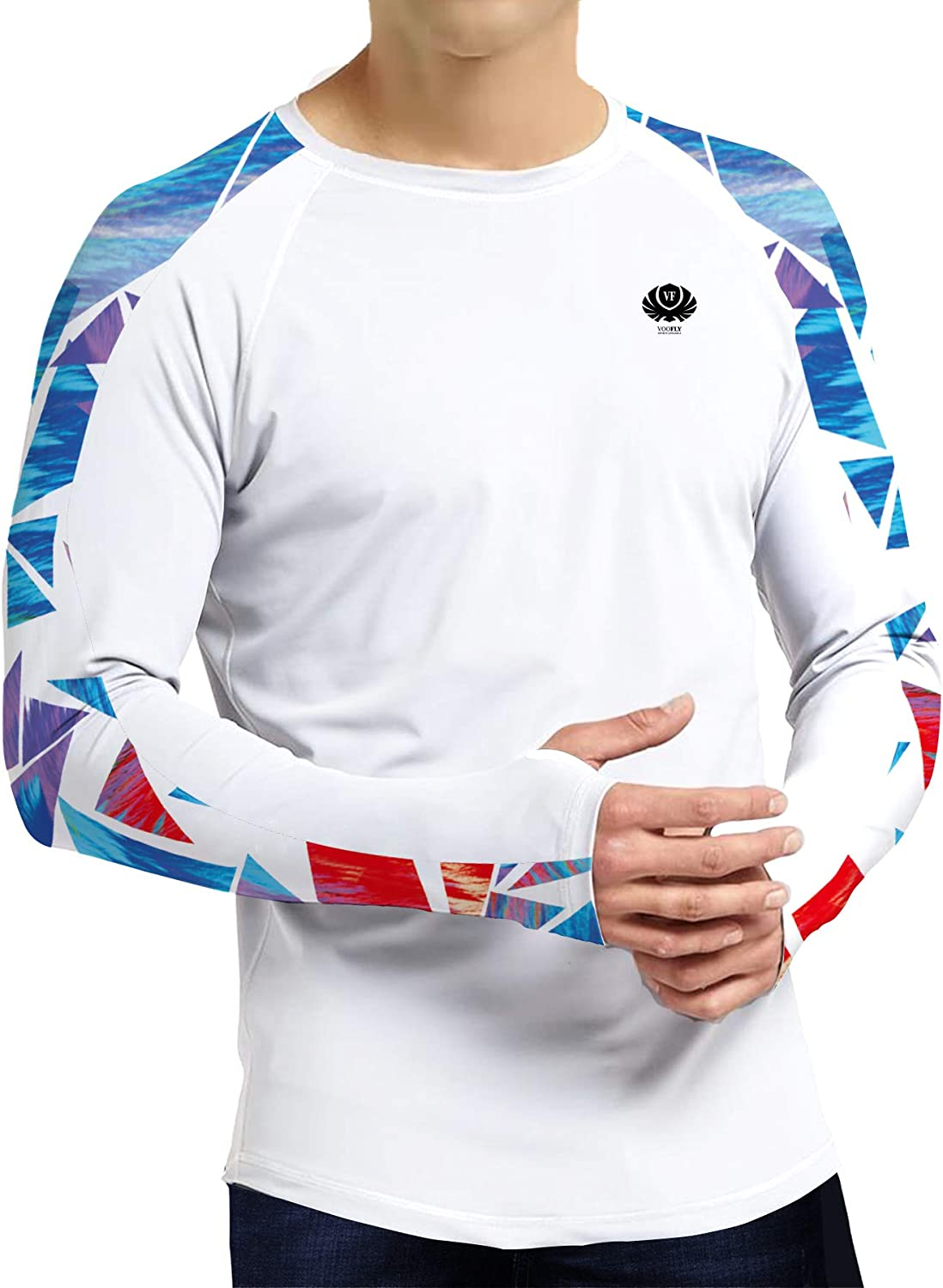 Men's Long High quality new OFFicial store Sleeve Running T-Shirts Athlet UPF 50+ Protection Sun