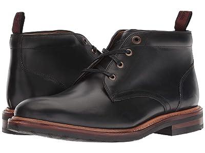 Florsheim Foundry Plain Toe Chukka Boot (Black Horween) Men