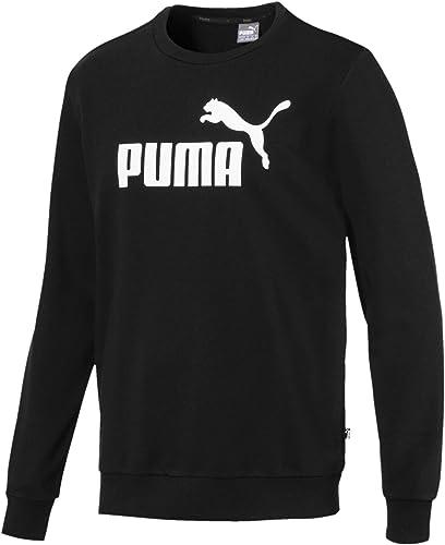 PUMA Ess Logo Crew Sweat TR Big Logo Sweat-Shirts Homme