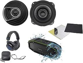 2 Polk Audio MM522 5.25 600 Watt Car Audio Speakers+Rockmat+Speaker+Headphones