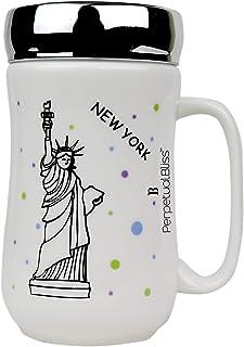 Perpetual Bliss Ceramic Mug for Tea / Coffee / Milk / Juice / Return Gifts / Birthday / Gift (Dimension)cm: 11x8x14