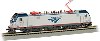 Bachmann Trains ACS-64 Dcc Wowsound Equipped Electric Locomotive Amtrak #607 - HO Scale, Prototypical Silver