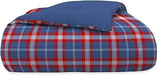 IZOD Bryon Plaid Comforter Set, King, Blue/Red Multi