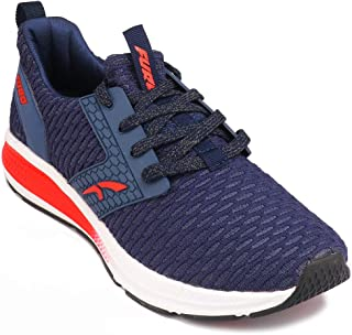 FURO by Red Chief Blue/Red Running Sports Shoes for Men's