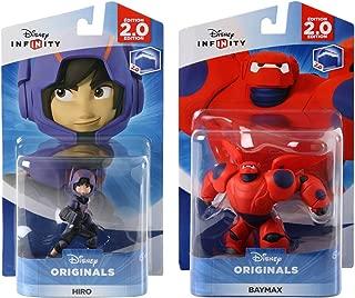 Disney INFINITY Originals - Hiro and Baymax Figures from Big Hero 6 Character Bundle