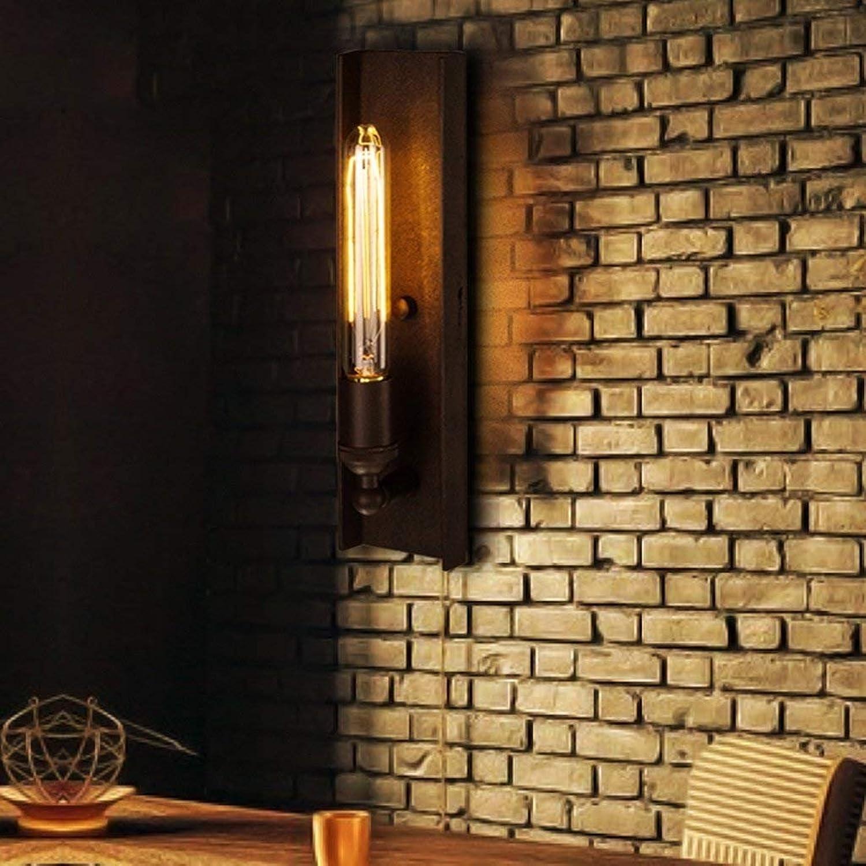 WW Retro Kreative Persönlichkeit Wohnzimmer Restaurant Schlafzimmer Terrasse Treppe, Schmiedeeisen Wandleuchte Nacht Industrie Wind Alcatraz B078JP85KG   Sale Outlet