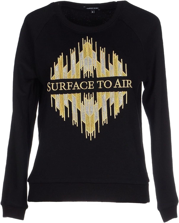 Surface to Air Women's Kaisa Sweater, 40, Black