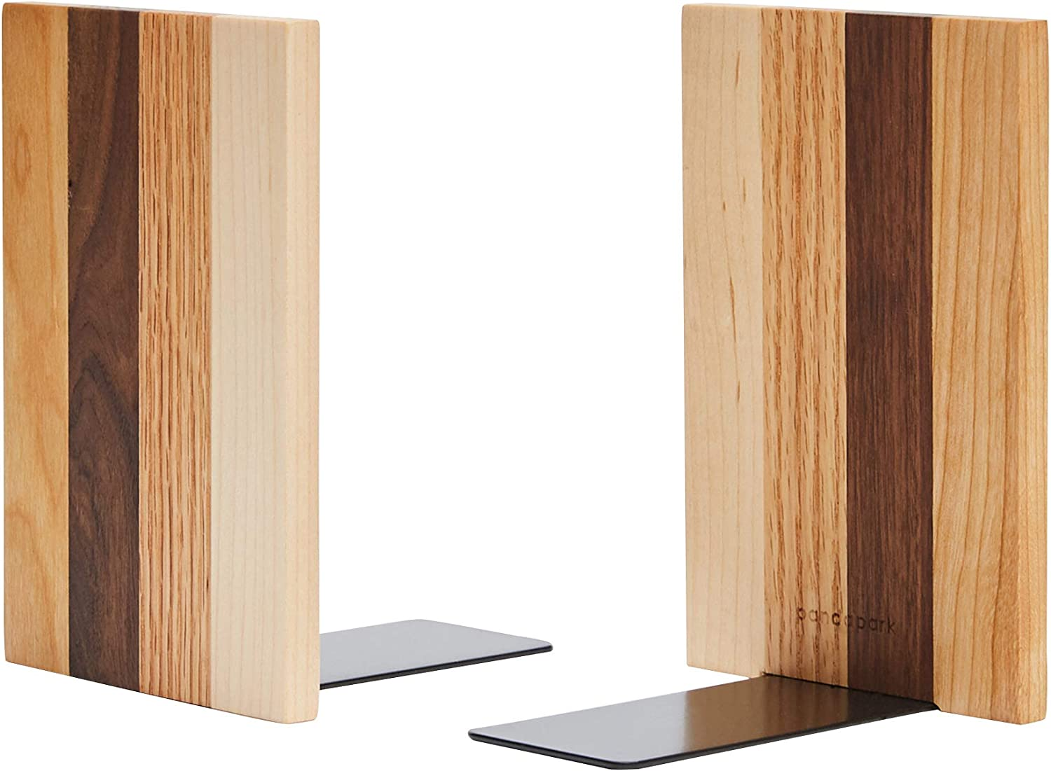 Pandapark Wood Bookends Nature Sale SALE% OFF Selling 6''X4' Decorative Coating Bookend
