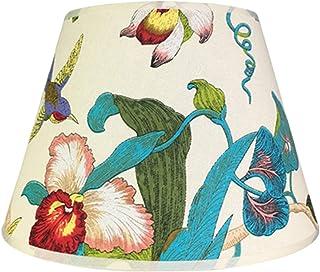 TRITTHOCKER Lampe de Table Abat-Jour, Coquille Housse Rond Lin Abat-Jour Lampe de Chevet Lampe Murale Lampe de Plancher Lu...