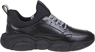 Luxury Fashion | Moschino Men MB15103G1AGA500A Black Leather Sneakers | Spring-summer 20