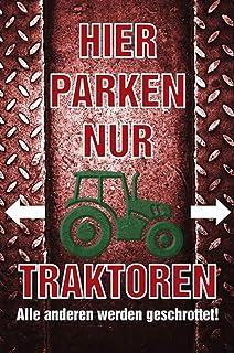 Suchergebnis Auf Für Traktor Schilder Merchandiseprodukte Auto Motorrad