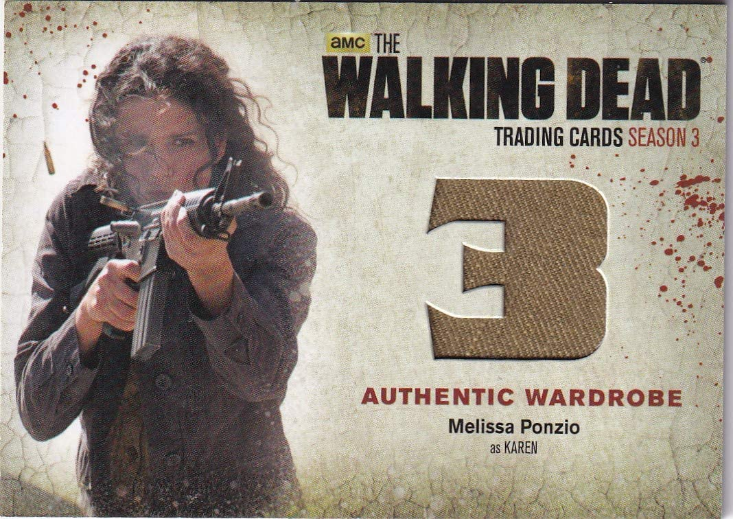 Walking Dead cryptozoic 2014 Melissa Wardrobe Karen Arlington Mall as Ponzio Ca Max 42% OFF