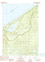 YellowMaps Trappers Lake MI topo map, 1:24000 Scale, 7.5 X 7.5 Minute, Historical, 1983, Updated 1984, 27.9 x 22.9 in