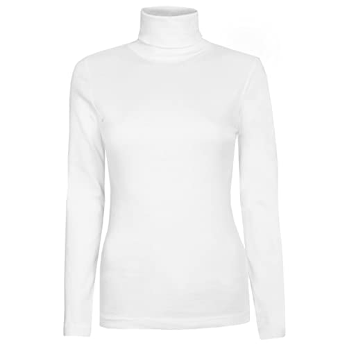 cbafc25d3e5e3a Womens Roll Necks Ladies Polo Neck Tops Exclusively by Brody & Co® Plain  Winter Ski