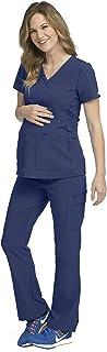 Activate Women's Maternity Scrub Set Bundle- 8459 V-Neck...