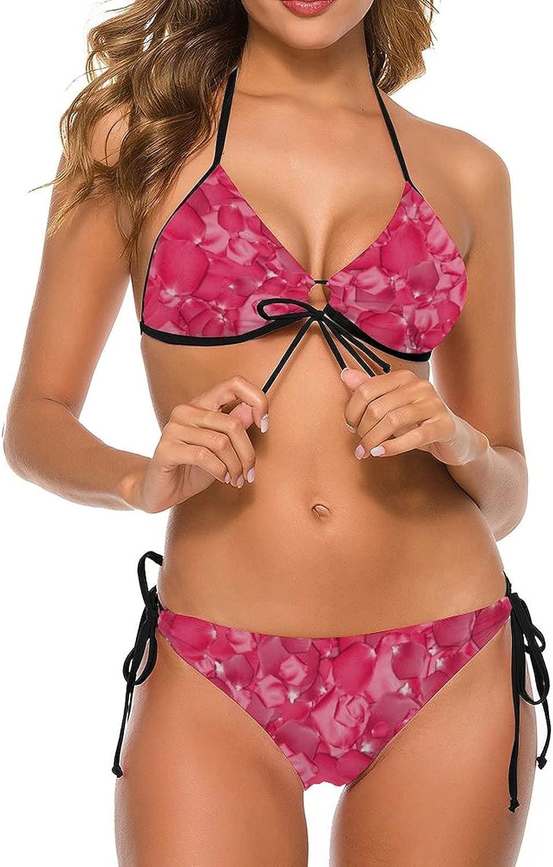 LINYANDIKAI Women's Sexy Braided Tulsa Mall Straps Sale SALE% OFF Brale Set Bikini Lace Up