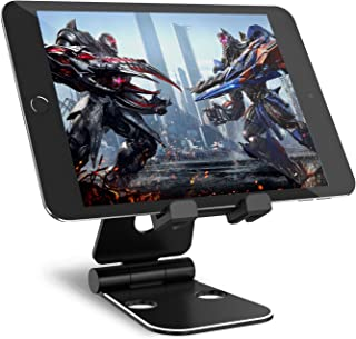 Syncwire Tablet Stand - Adjustable 2x270° Portable Table Desk Stand Compatible for iPad Pro Air Mini, Nintendo Switch, iPhone X 8/7/6S/6 Plus, Samsung Galaxy Tab, Kindle Fire - Black