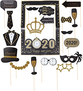 Best happy new year photo props Reviews