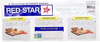 Red Star Instant Quick Rise Dry Yeast, 3 ct