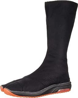 Marugo Traditional Japanese Tabi Shoes Air Jog V 12 Clasps Air Cushioned Toe Boots Long