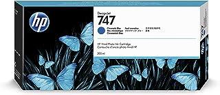 HP 747 Chromatic Blue 300-ml Genuine Ink Cartridge (P2V85A) for DesignJet Z9+ Large Format Printers