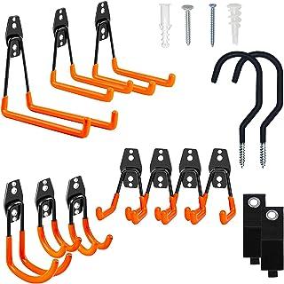 Sponsored Ad – Thanaddo Garage Hooks 14 Pack Heavy Duty Garage Storage Hooks Tool Organizer Wall Mount Hangers with Free 2...