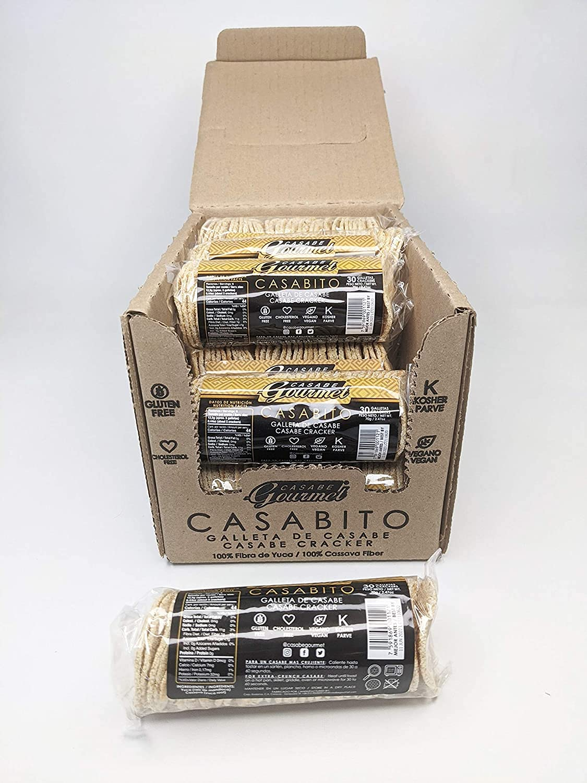 Max 43% OFF Casabe Gourmet Casabito Ranking TOP17 Cracker – 1 of 12 packa Box
