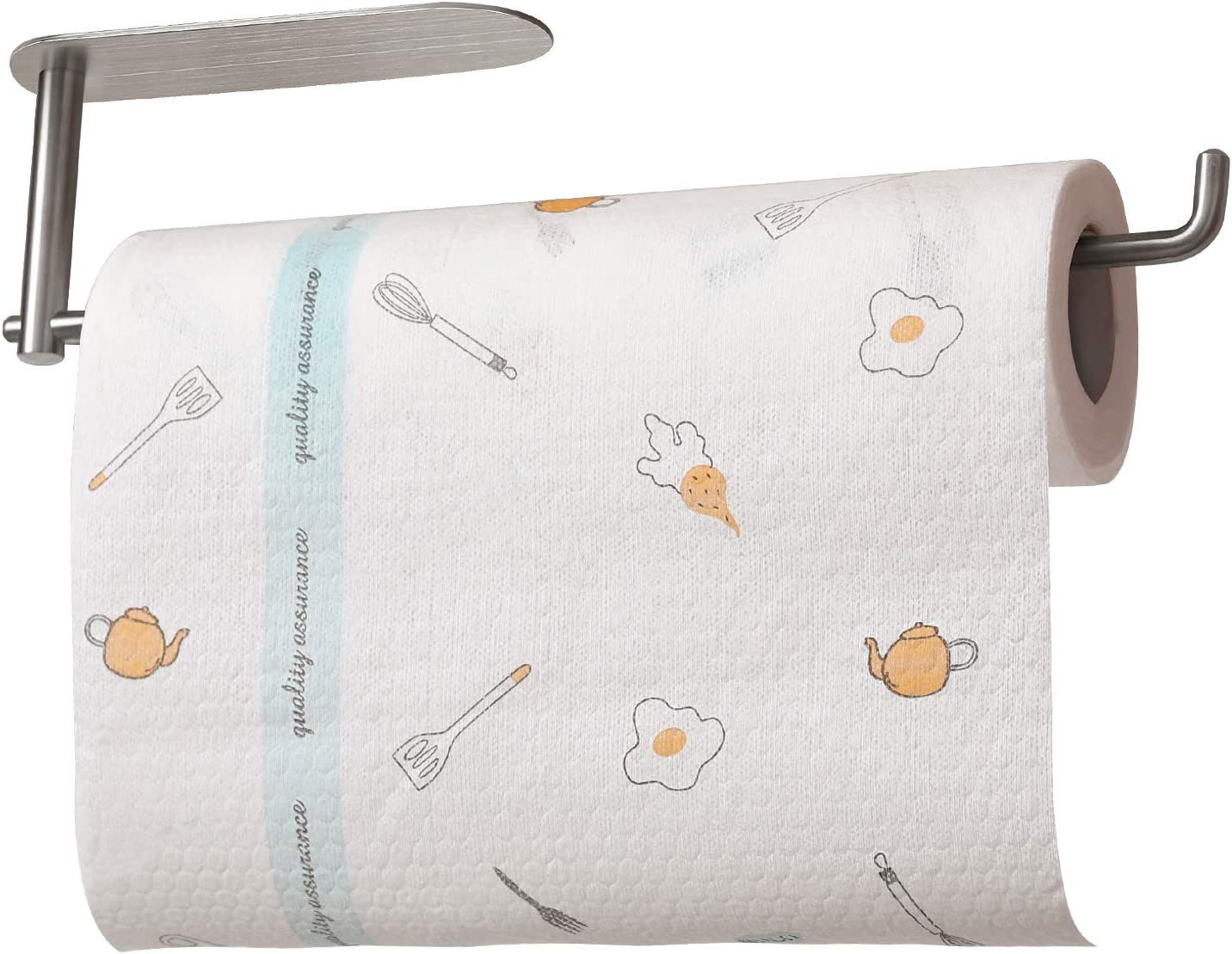 Paper Towel Max 43% OFF Holder Fees free!! Under Cabinet SteelTissue Stainless Ra Sus304