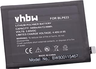 vhbw battery 1500mAh for Smartphone mobile Alcatel One Touch OT ...