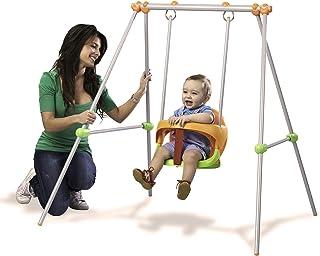 Smoby- Baby Swing Columpio bebé, 120 x 124 x 120 cm (310046
