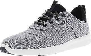 TOMS Men's Del Rey Canvas Sneakers, Easy-Fit in Lightweight Non-Slip Grip Rubber Sole