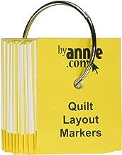 Patterns ByAnnie Quilt Layout Markers