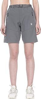 Little Donkey Andy - Pantaloncini elasticizzati da donna, ad asciugatura rapida, UPF 50+, per escursionismo, campeggio, vi...