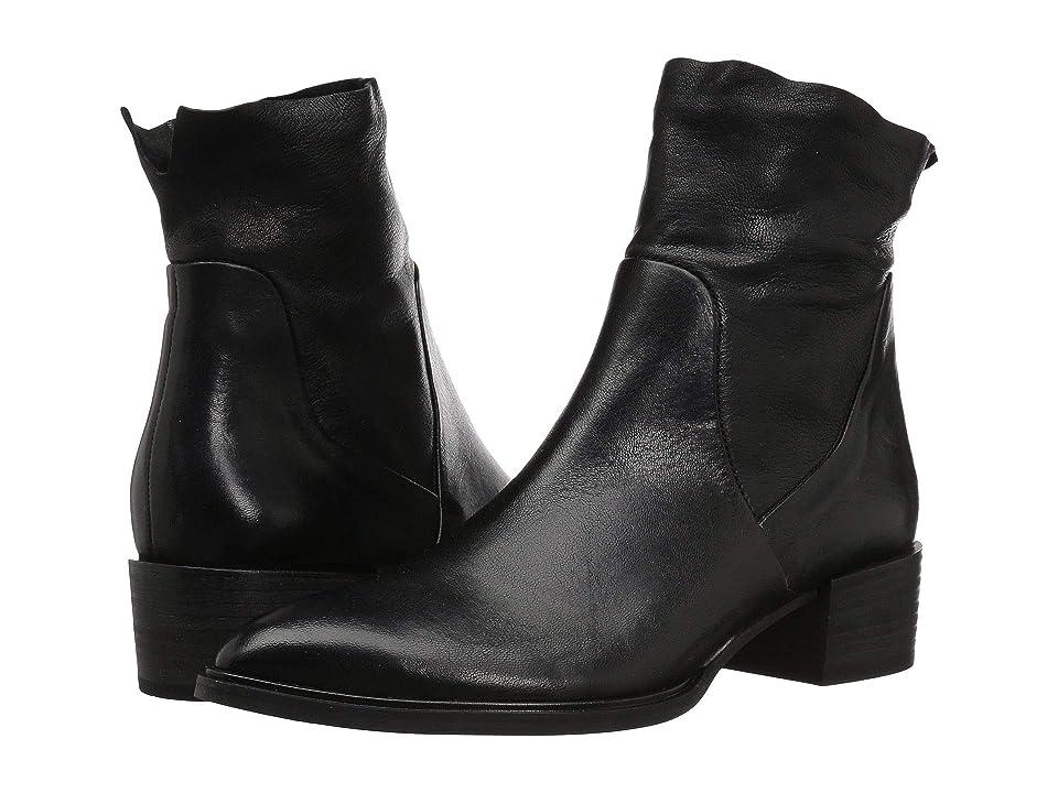 Paul Green Trey Boot (Black Leather) Women