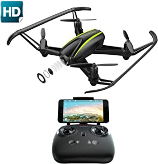 Potensic U36WH Drone with Camera, RC Quadcopter with 720P HD WiFi Live Video Altitude Hold and Headless Mode Function for Beginners