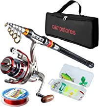 ministoream Rod and Reel Combos Carbon Fiber Telescopic Fishing Rod with Reel Combo Sea Saltwater Freshwater Kit Fishing Rod Kit