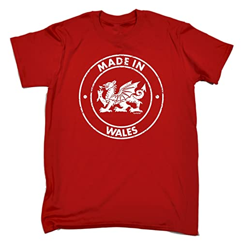 63fa29048e1f7 Men s Made in Wales Loose FIT T-Shirt