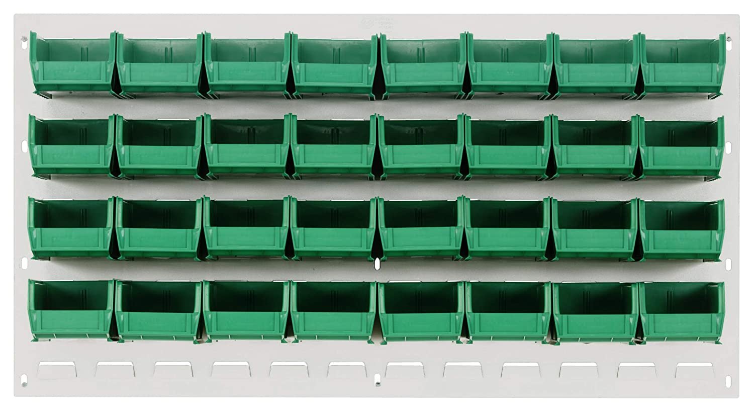 Quantum Storage QLP-3619HC-210-32GN Oyster Max 70% OFF Panels Import Louvered White