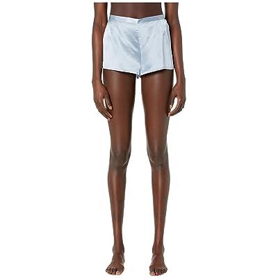 La Perla Silk Shorts (Grey Blue) Women