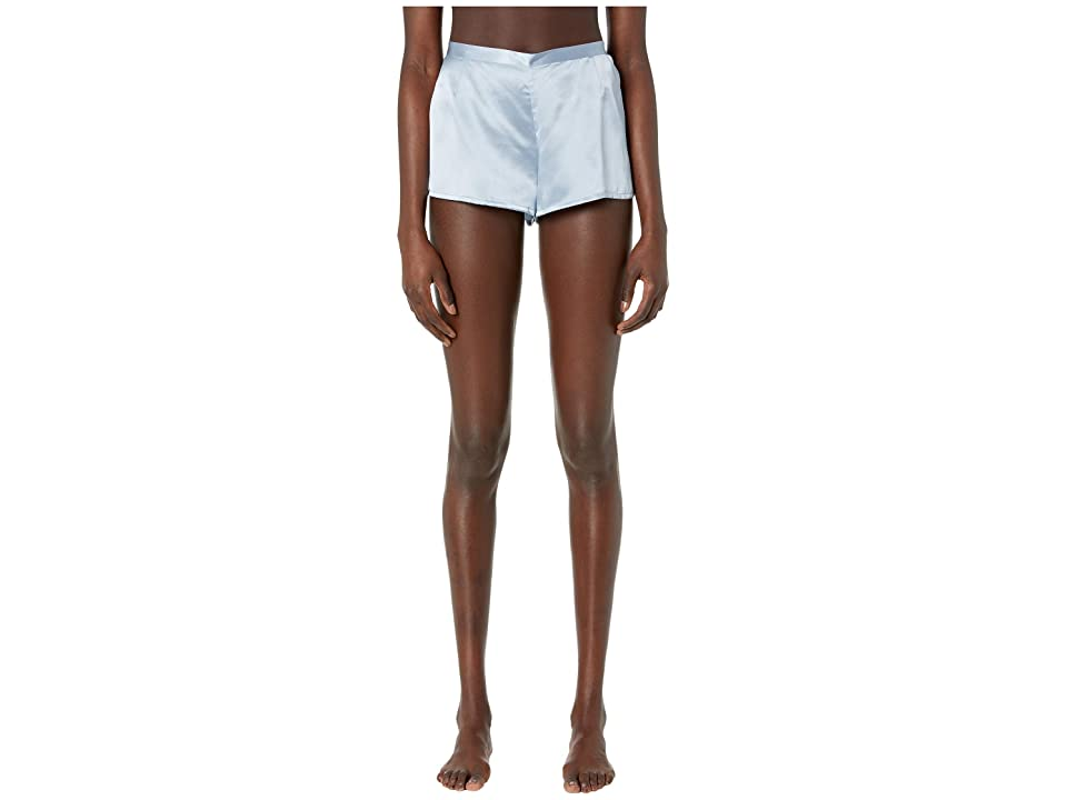 La Perla Silk Shorts (Grey Blue) Women