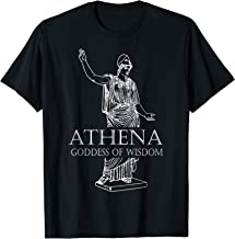 Athena Goddess Of Wisdom Greek Mythology T-Shirt