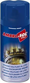 Ambro-Sol G001 Grasa multiuso de litio, Amarillo, 400 ml