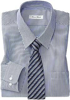 [nissen(ニッセン)] メンズ ワイシャツ 長袖 抗菌防臭 形態安定 レギュラーカラー S M L LL 3L