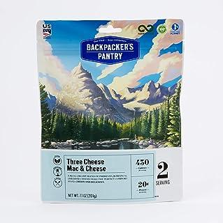 Backpacker's Pantry Three Cheese Mac & Cheese, (Packaging May Vary)