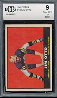 jim otto rookie card