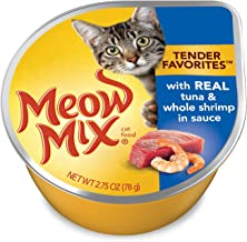 Meow Mix Tender Favorites Wet Cat Food, 2.75 Ounce Cups