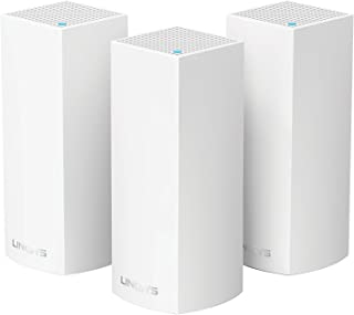 Linksys Velop Tri-band AC6600 Whole Home WiFi Mesh System- 3-Pack (coverage up to 6000 sq. ft)